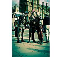 Punks on Parade:-) Photographic Print