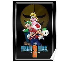 Pixel Super Mario Bros. 2 Poster