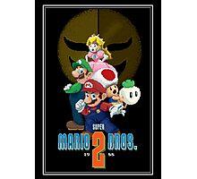 Pixel Super Mario Bros. 2 Photographic Print