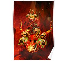 Red Dragon...brings luck Poster