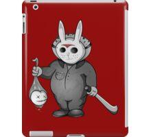 Little Masked Maniac (Monochrome version) iPad Case/Skin