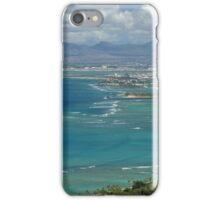 Honolulu from Diamond Head iPhone Case/Skin