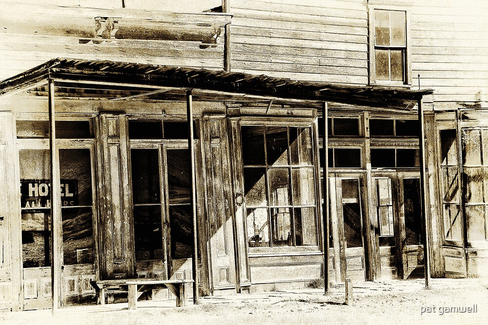 Bodie Hotel by pat gamwell