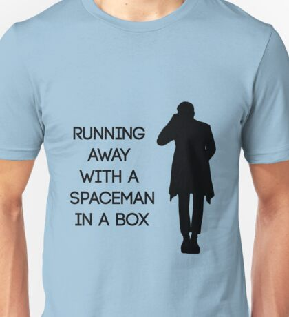 spaceman in a box Unisex T-Shirt