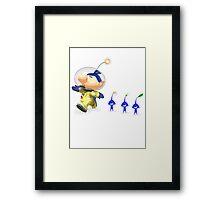 Splatoon - Pikmin Crossover  Framed Print