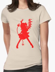Flandre Scarlet (Red) - Touhou Project Womens Fitted T-Shirt