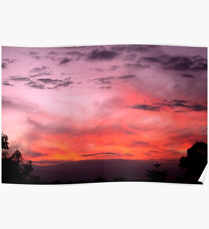 Wahroonga Sunsets Poster