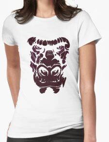 Ape Face Womens Fitted T-Shirt