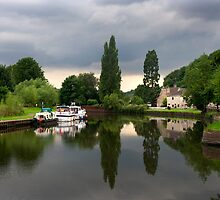 The Boat Inn on the River Don by Theresa Elvin