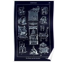 A Handbook Of Ornament With Three Hundred Plates Franz Sales Meyer 1896 0445 Furniture Throne Arm Chair Inverted Poster