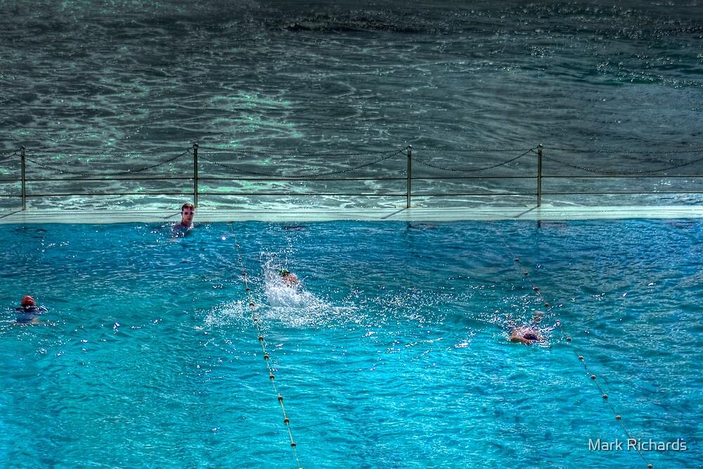 Ice Breakers Swimming Pool Bondi Beach Sydney Australia By Mark Richards Redbubble
