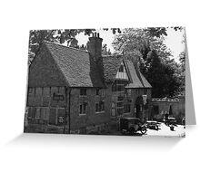 Castle Inn, Chiddingstone Greeting Card