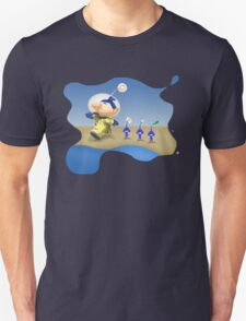 Splatoon - Pikmin Crossover Beach Splash T-Shirt