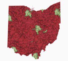 Ohio Flowers Kids Clothes