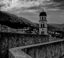 Dubrovnik City walls by Mark  Dodds