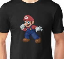 Super Pixel Mario Unisex T-Shirt