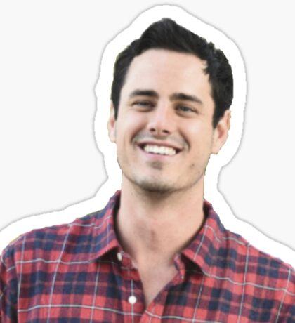 Plaid Ben H.  Sticker