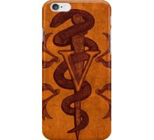 Veterinary Caduceus iPhone Case/Skin