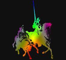 Psychedelic Don Quixote and Sancho Panza T-Shirt