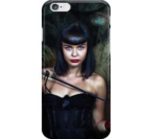 she's the boss... iPhone Case/Skin