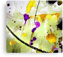 Lemon Drizzle Canvas Print