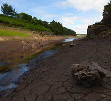 West End Ruins, Thruscross Reservoir. by Nick Atkin