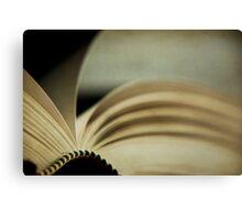 the novel Canvas Print
