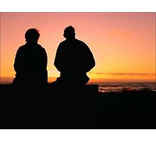 The Sunset Years of Life Photographic Print