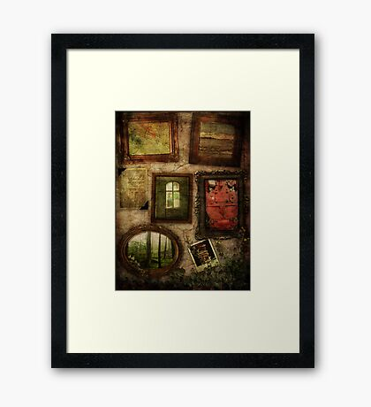 Chambers Of My Heart Framed Print
