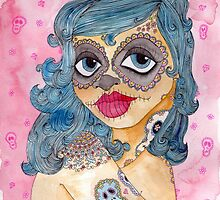 Day of the Dead Girl by Samantha Gilkes