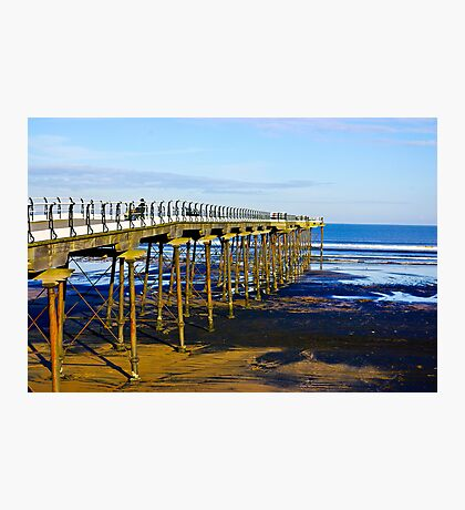 All Alone on the Pier Photographic Print