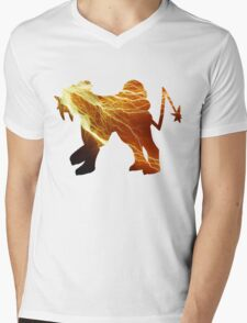Raikou used thunder Mens V-Neck T-Shirt