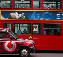 Oxford Street Transport by Greg McMahon