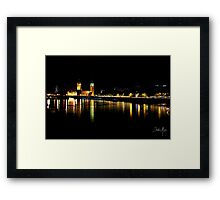 Dark London Framed Print