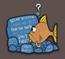 Goldfish memory by funnyshirts