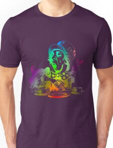 Psychedelic Mad Hatter Trippy Alice Unisex T-Shirt