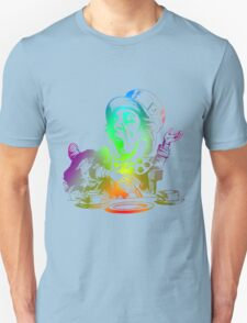 Psychedelic Mad Hatter Trippy Alice T-Shirt