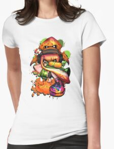 Splatoon - Prepare to be splatted! Womens Fitted T-Shirt