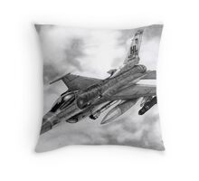 """421st Black Widows"" Throw Pillow"