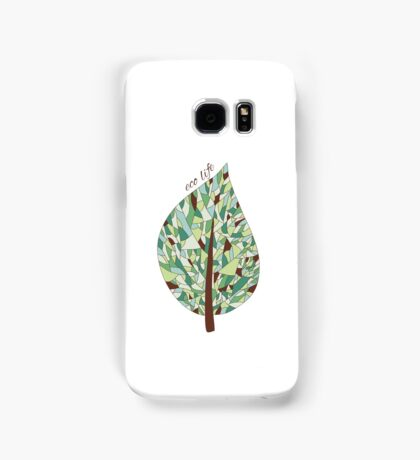 Ecology card design  Samsung Galaxy Case/Skin