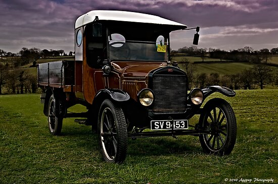1924 Model T Pickup by David J Knight