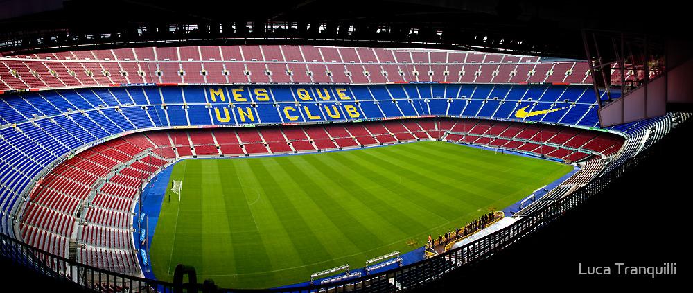 Camp Nou by Luca Tranquilli