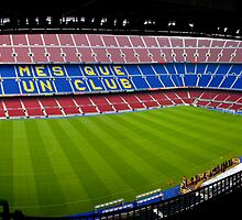 Camp Nou by Luca Tranquilli