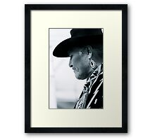 Quiet Courage Framed Print