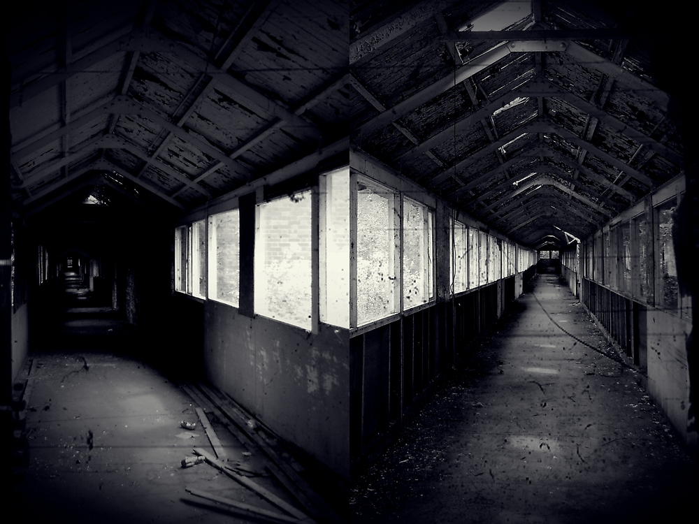 I Came To a Fork in The Road ~ West Park Asylum by Josephine Pugh