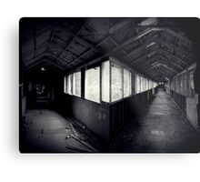 I Came To a Fork in The Road ~ West Park Asylum Metal Print