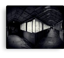 I Came To a Fork in The Road ~ West Park Asylum Canvas Print