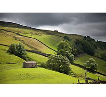 The Passing Swaledale Light Photographic Print