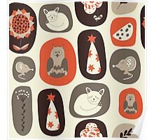 Children's pattern Poster