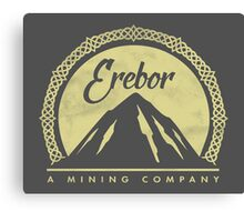 Erebor Mining Company Canvas Print